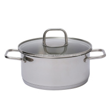 Kitchen Cookware 3Layer Bottom Stainless Steel Soup Pot