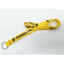 Custom Polyester Silk Screen Lanyards For Club