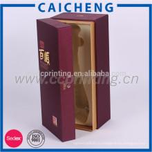 Высококачественные вина деревянная упаковка подарочная коробка