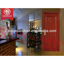 Entry type swing open style new design wood door