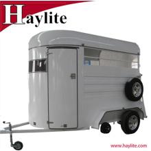 Remorques à un seul cheval Chine utilisé cheval box trailer usine prix