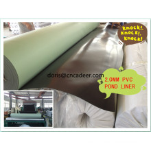 Géomembrane en PVC de 1 mm pour réservoirs de stockage