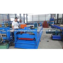 Panel de azulejos de azulejos laminados en rollo que forman la máquina