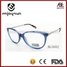 Marcos ópticos del acetato de la señora eyewear con las extremidades colorized alta calidad