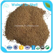 Crushed Walnut Shell zum Polieren von weichen Metallen