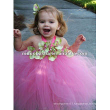 NW-243 Fairy-tale sweet skirt with handmade flowers tulle tutu dress