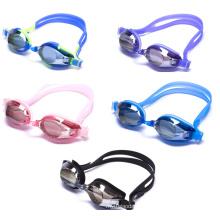 2015 gafas más nuevas de la PC anti-niebla gafas de natación de silicio
