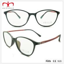 Señoras Tr90 gafas de lectura con el templo de primavera (7203)