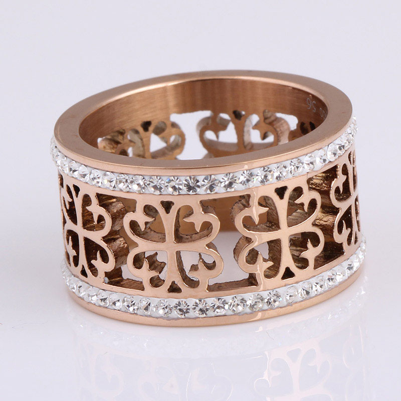 rhinestone ring band