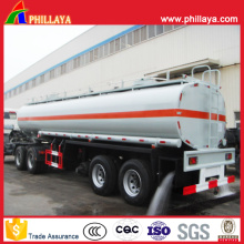 Double Axles Steel Water Tanker Trailer with Pouring Pumps