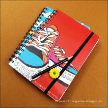 Customized print plain paper school notebook cover designs