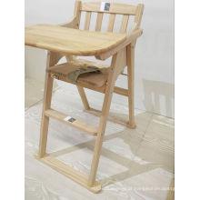 Newst Cadeira de jantar de madeira de madeira cadeira alta
