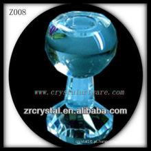 Suporte de vela de cristal popular Z008