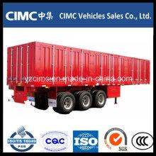 Cimc 3 Axle Curtain Side Trailer