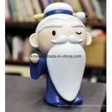Mini ICTI Aufblasbare Palm Form Kunststoff Puppe Baby Kinder Modell Spielzeug