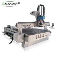 2017best selling!!! cnc router ATC 1325 processing center,Jinan wood engraving machine