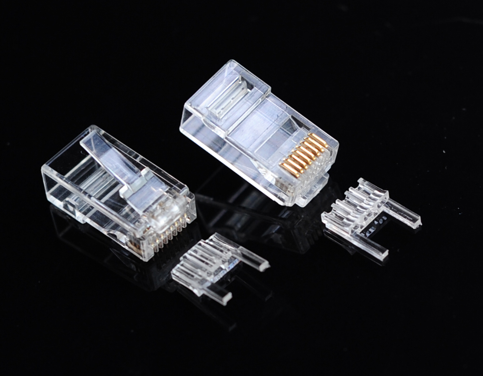 RJ45 Plug Connector Cat6