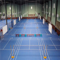 PVC indoor Comfort Badminton Flooring