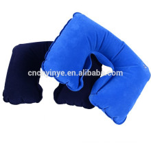 OEM viaje inflable pvc almohada