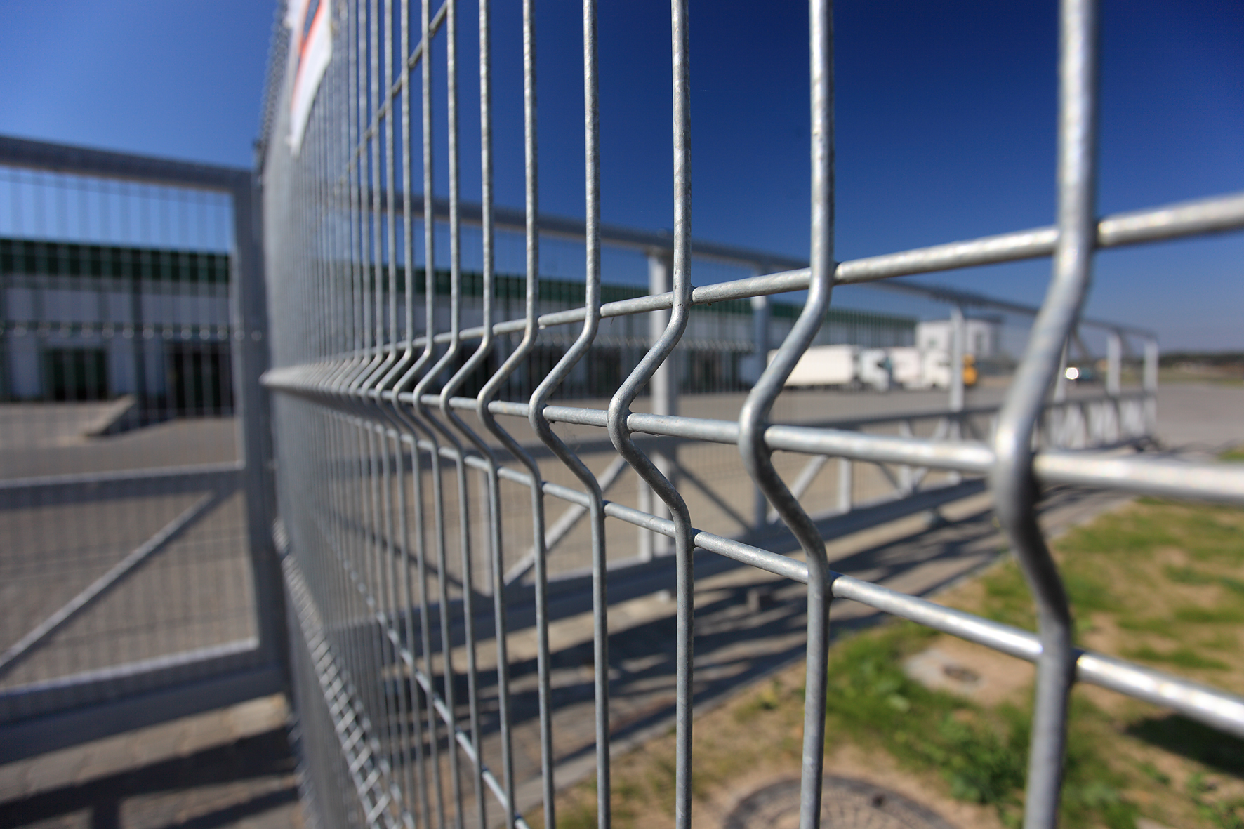 hot dipped galvanized fence panels