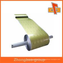 Aceite a película feita sob encomenda da laminação do alumínio da ordem feita sob encomenda no rolo com preço de fábrica