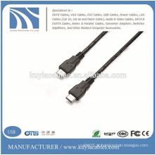 USB3.1 Tipo C para Tipo C 1.5M 8 linhas coaxiais Cabo de carregador de dados para MacBook novo