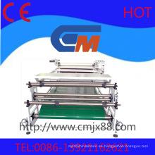 máquina de alta presión de la transferencia de calor del rollo
