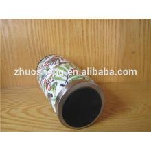 wholesale creative made in china top grade stainless steel custom ceramic travel mug