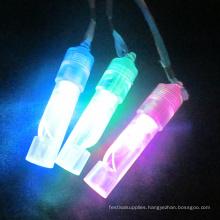 led plastic light up whistle for kids festival gifts