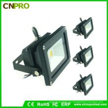 Lámpara de inundación negra de la vivienda 10W LED con Ce RoHS