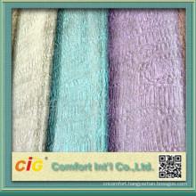 velour fabrics 80% cotton 20% polyester FOB