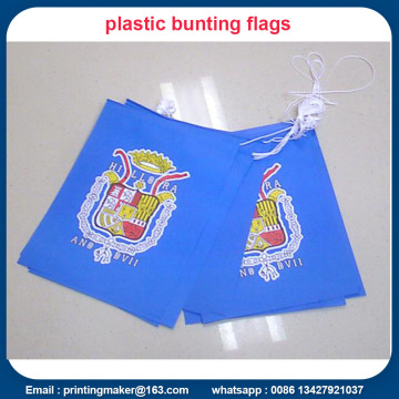 Banner Triangle Flags Bunting 10m Run