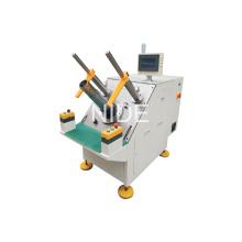 Ventilateur Motor Stator Semi-Automatic Bobine Winding Inserter Machinery