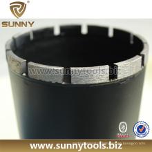 Profissional Diamond Bits de broca de núcleo de concreto para construção