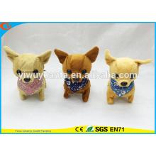 Juego de niños de alta calidad Chihuahua Walking Barking Electric Stuffed Puppies