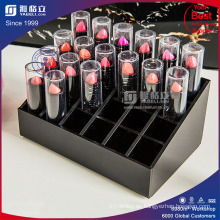 Acryl Kosmetik Display 24 Slots Lippenstifte Standhalter