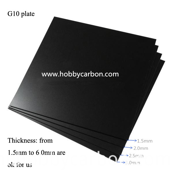 perfect 3k surface fiber glass plates