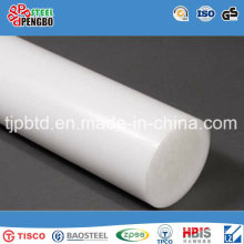Barra plástica sólida sacada redonda transparente del PVC barra