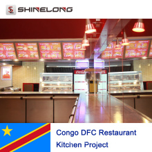 Congo DFC Restaurant Kitchen Project