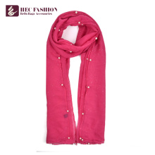 HEC OEM Benutzerdefinierte Logo New Styles Fashion Plain Frauen Schal Schal