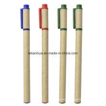 Переработанной бумаги Eco Содружественный гелевая ручка (ЛТ-C427)