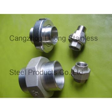 "1/8 ""acero inoxidable 316 DIN2999 Union Flat F / F"