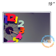 """High brightness 19"""" open frame LCD monitor with removable mounting parts"""