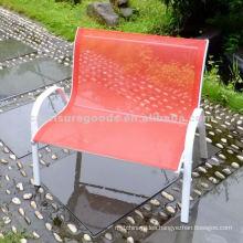 Garden metal sling double seat kids chair