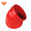 ductile iron grooved Pipe Fittin dresser coupling