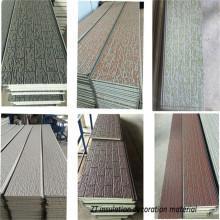 Exterior insulation decorative integral wall cladding