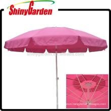 fiberglass umbrella frame,2.7m aluminum outdoor umbrella,carbon fiber umbrella