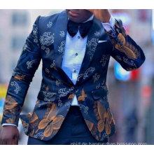 Suzhou Fabrik nach Maß gute Qualität Abend Hochzeit Männer Anzug Großhandel