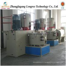 Unité de mélangeur à grande vitesse et de refroidissement de poudre de PVC