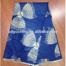 2014 100% Baumwolle African Real Wachs Stoff African gedruckt Wachs Stoff der veritablen Wachs